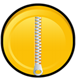 zip download icon